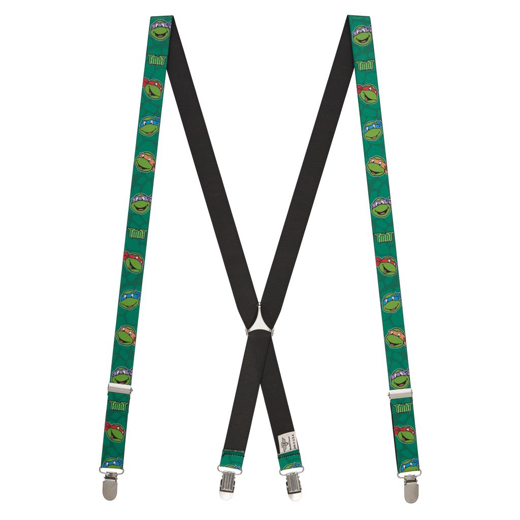 Ninja Turtle Suspenders - Full View