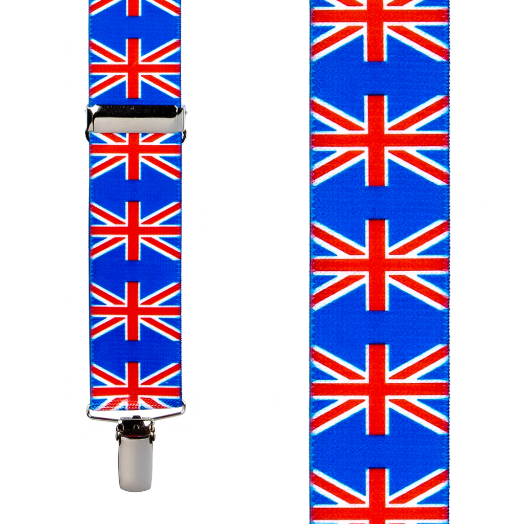 United Kingdom Suspenders - Front View