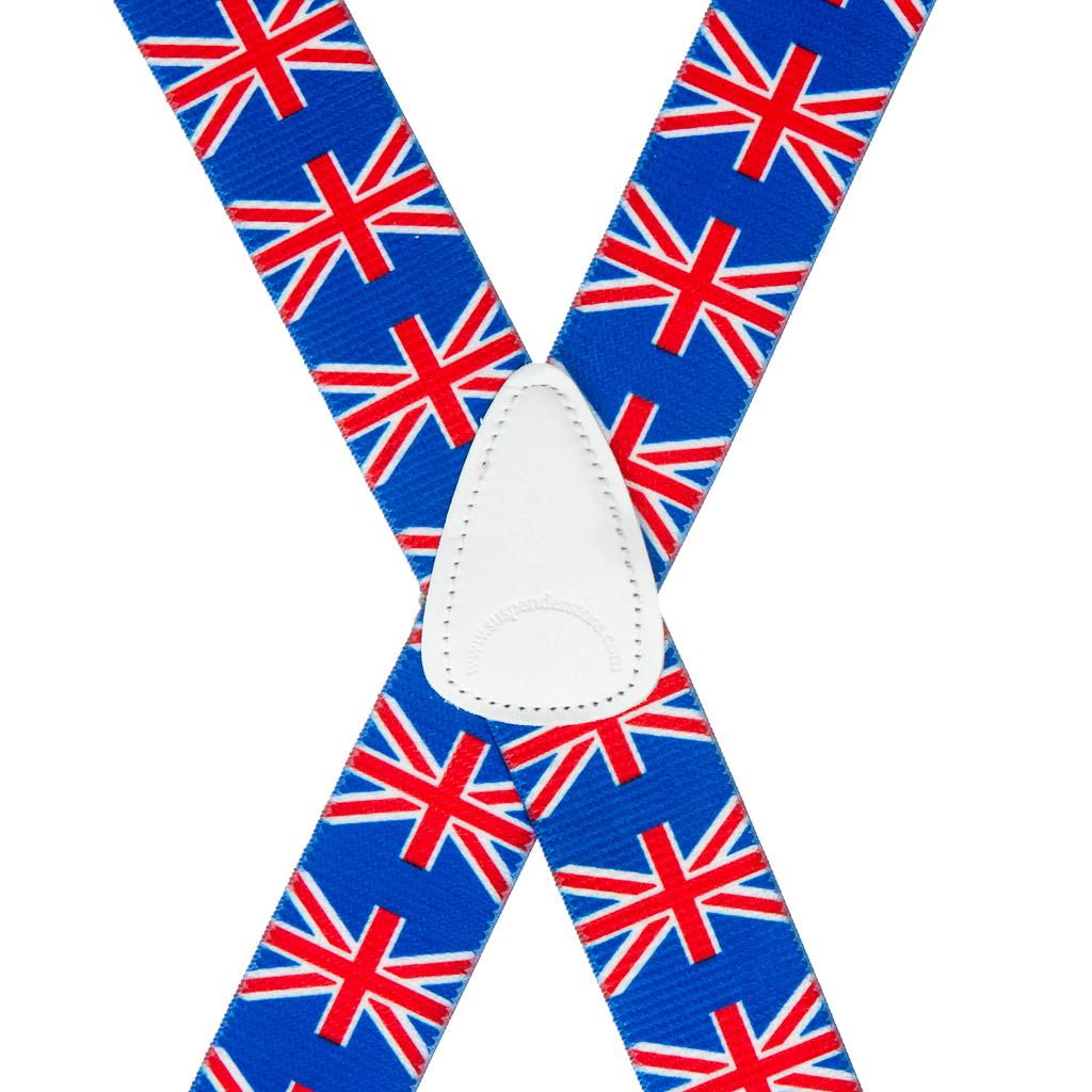 United Kingdom Suspenders - Rear View