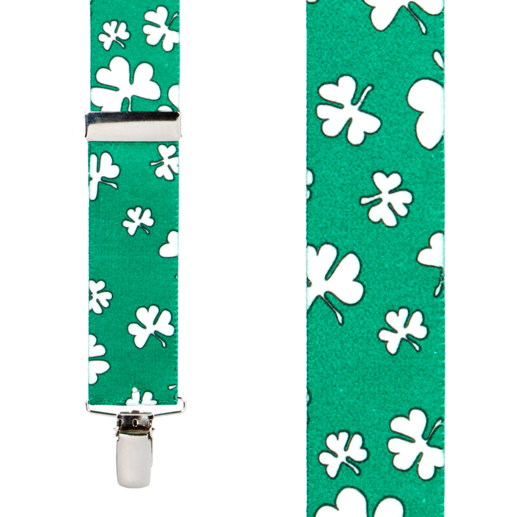 Shamrock Suspender - Front View