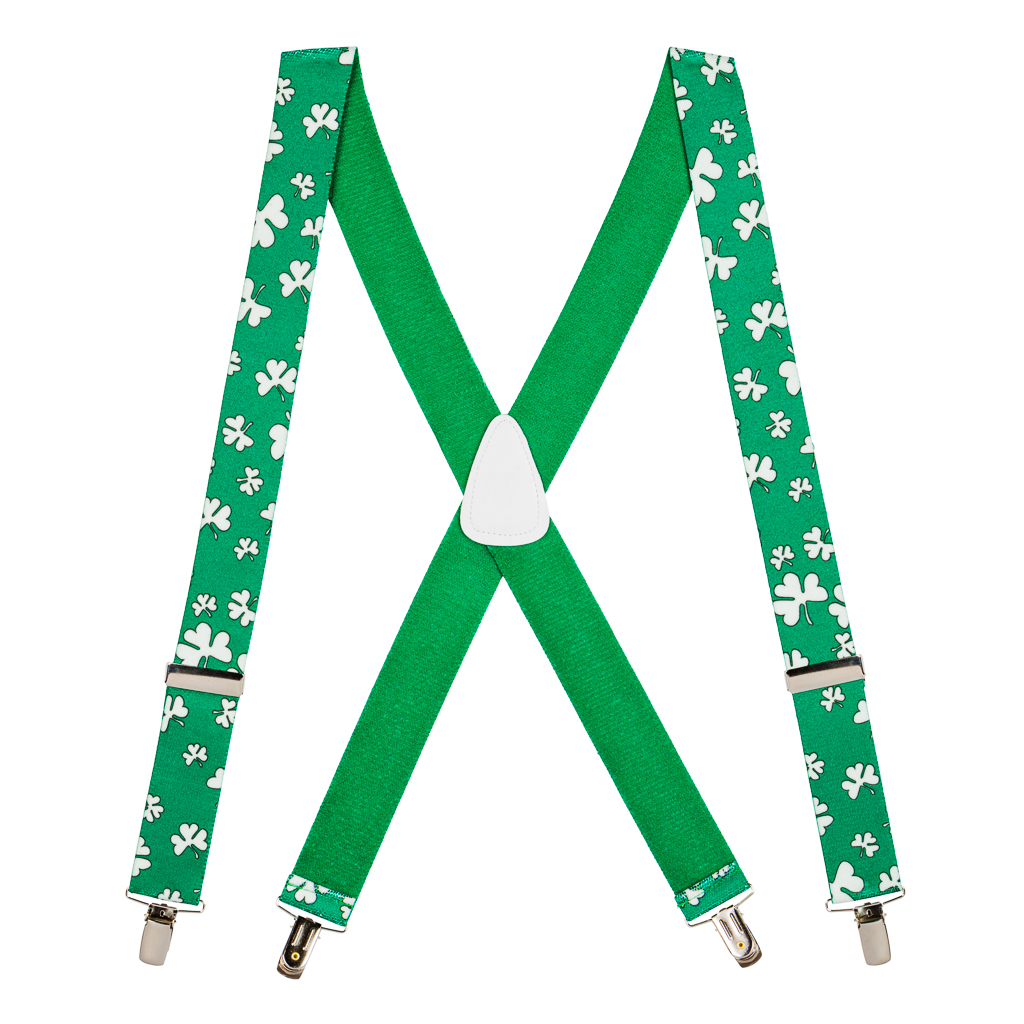 Shamrock Suspender - Full View