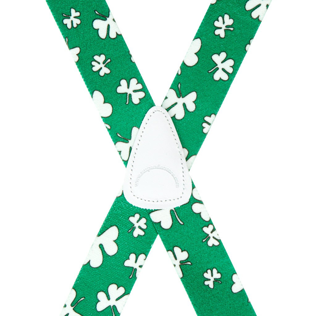 Shamrock Suspender - Rear View