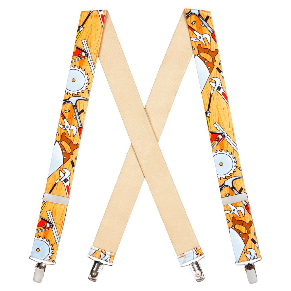 Carpenter Suspenders for Kids - Full View