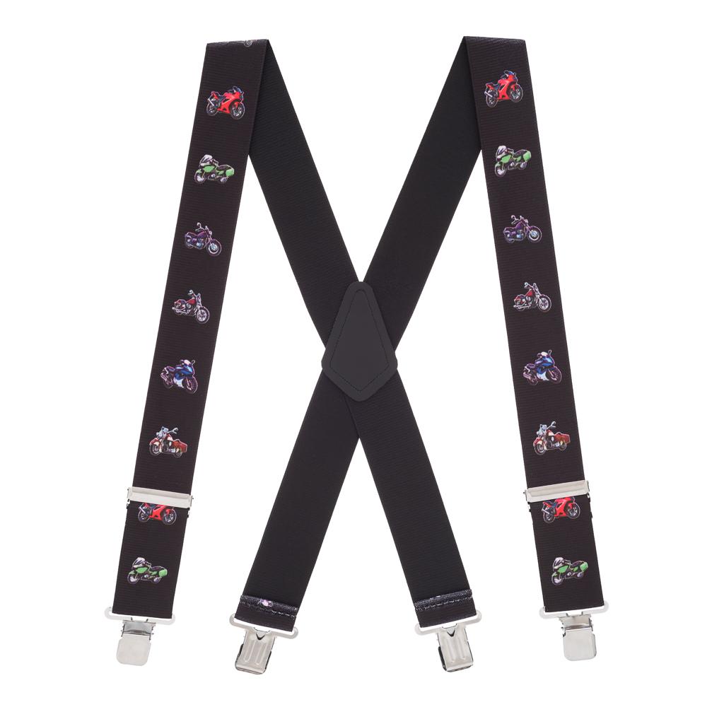 Motorcycles Suspenders - Full View