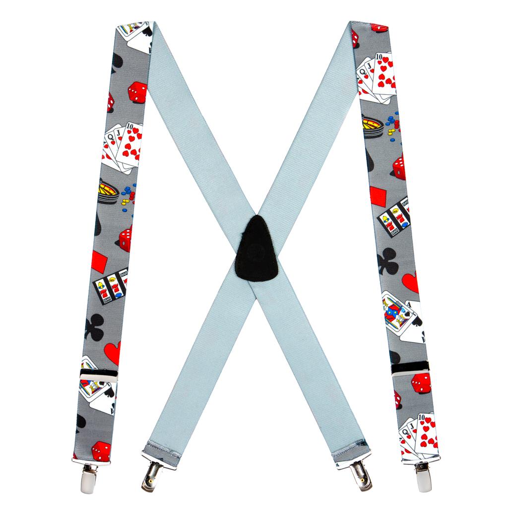Casino Suspenders - Full View