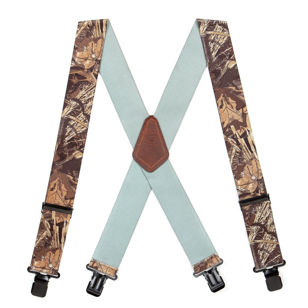 Max 4 Camo Suspenders - Full View