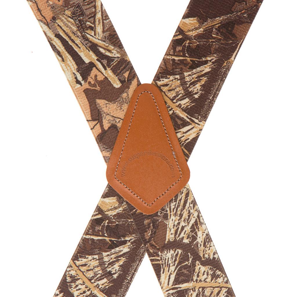Max 4 Camo Suspenders - Rear View
