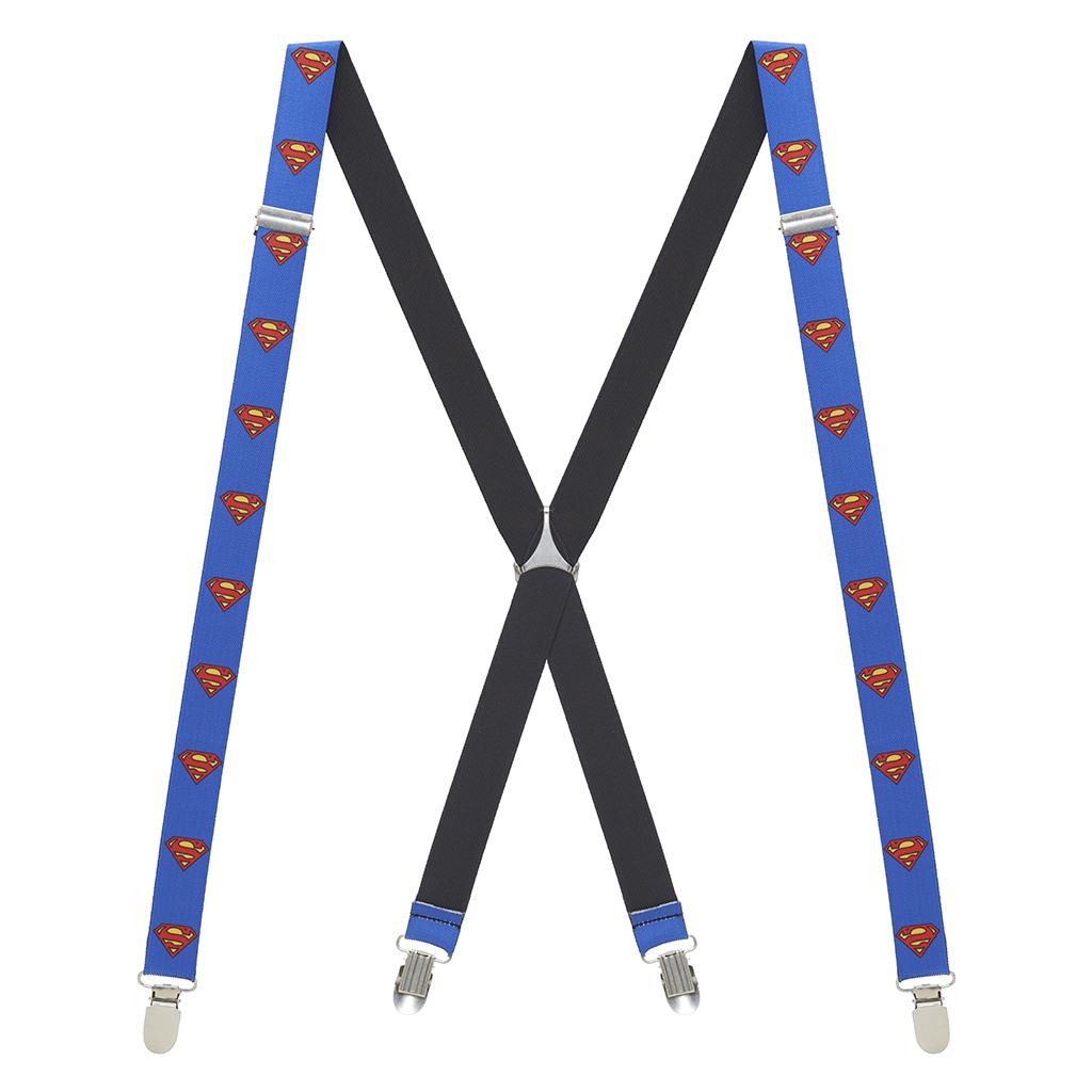 Superman Suspenders - Full View