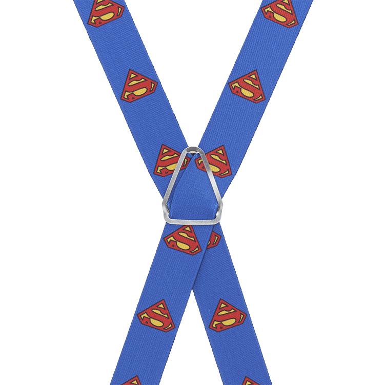 Superman Suspenders - Rear View