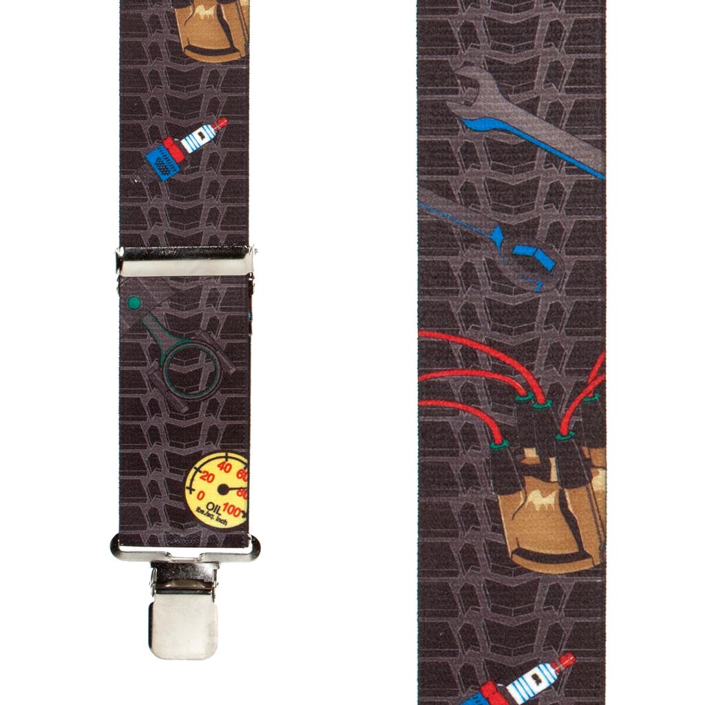Mechanic Suspenders - Front View