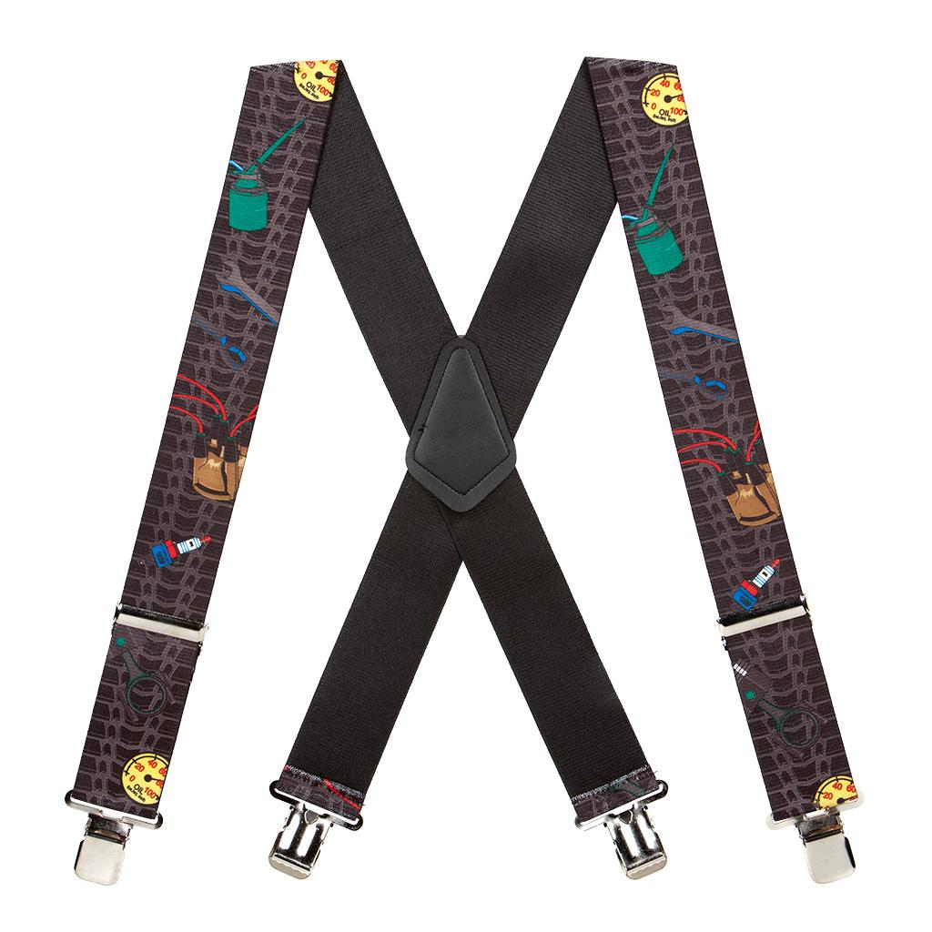Mechanic Suspenders - Full View