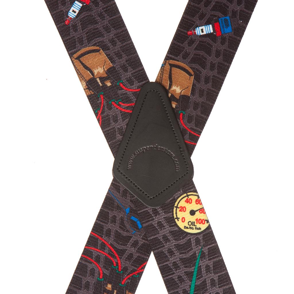 Mechanic Suspenders - Rear View