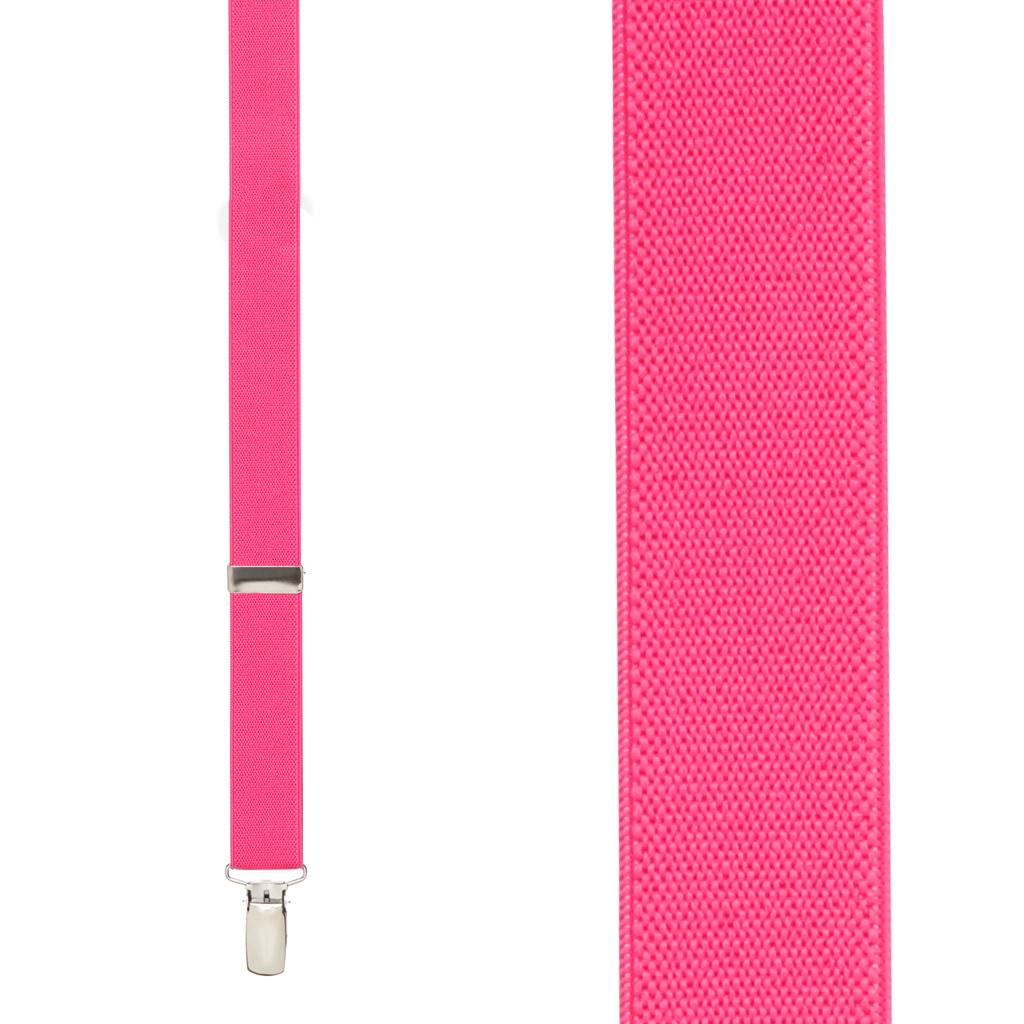 Fuchsia Suspenders - Front View