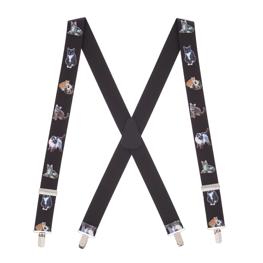 Cat Suspenders - Full View