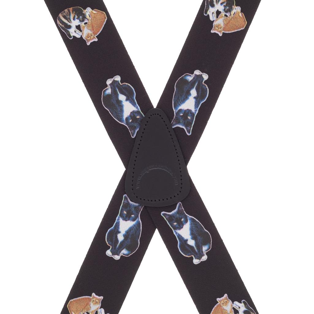 Cat Suspenders - Rear View