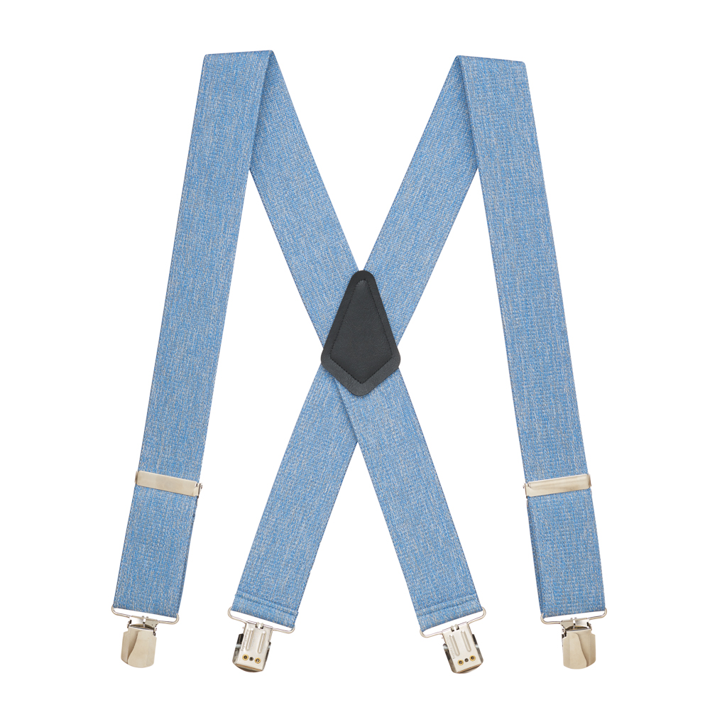 Denim Suspenders - Full View