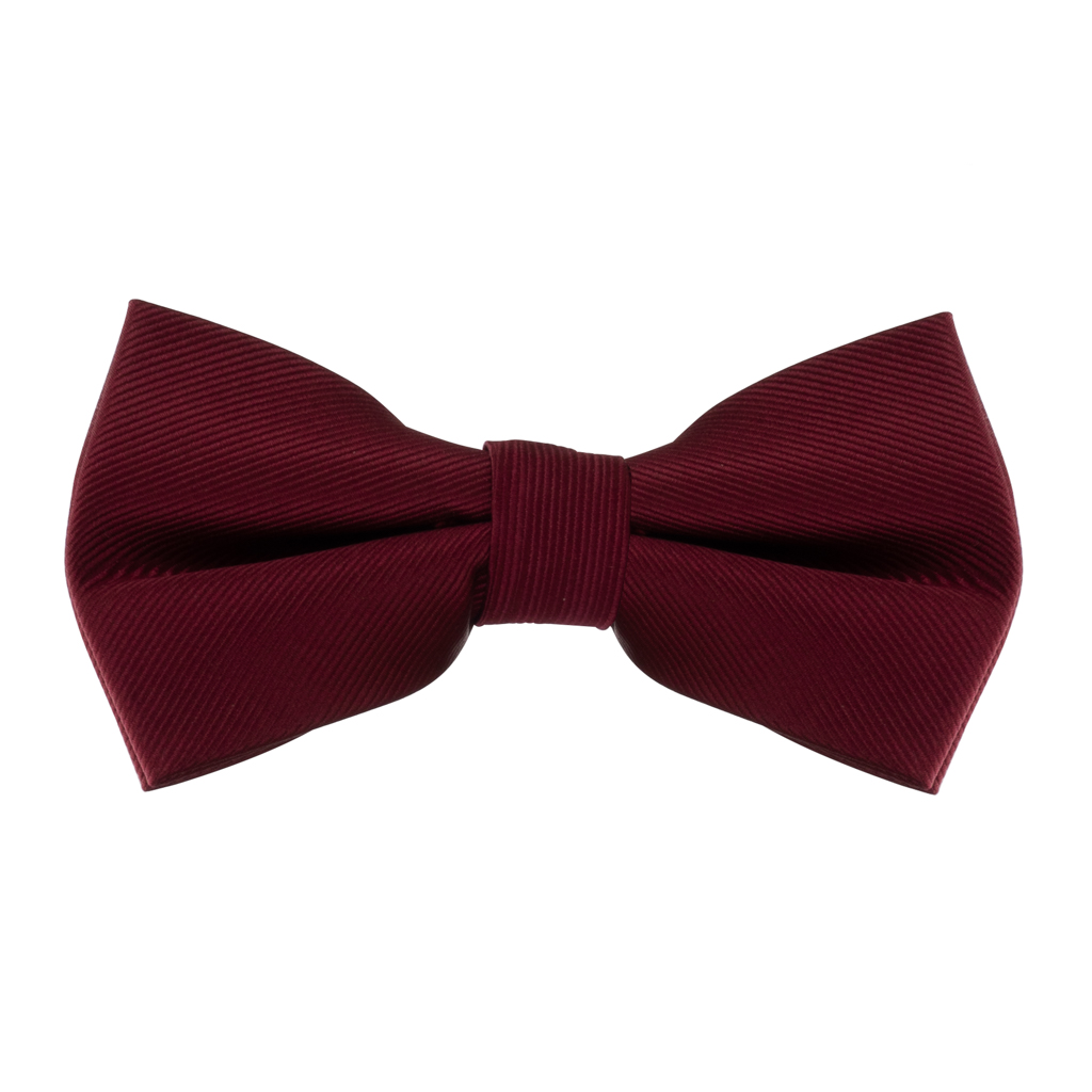 Bow Tie in Burgundy