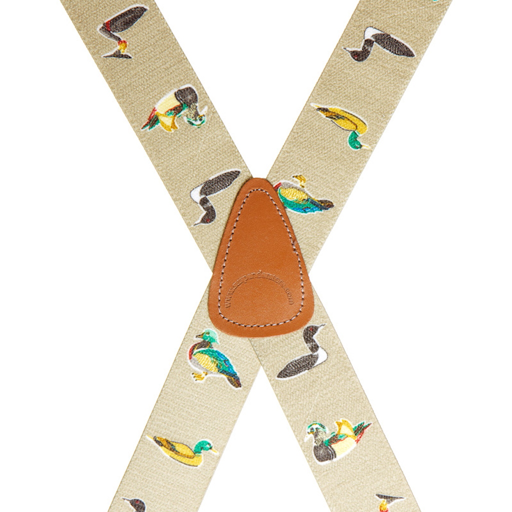 Duck Suspenders - Rear View
