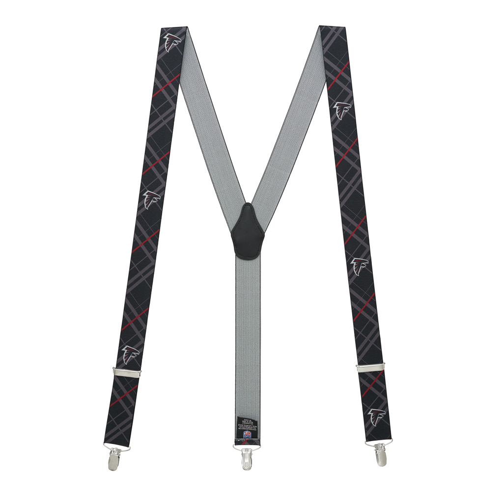 Atlanta FALCONS Football Suspenders - Full View