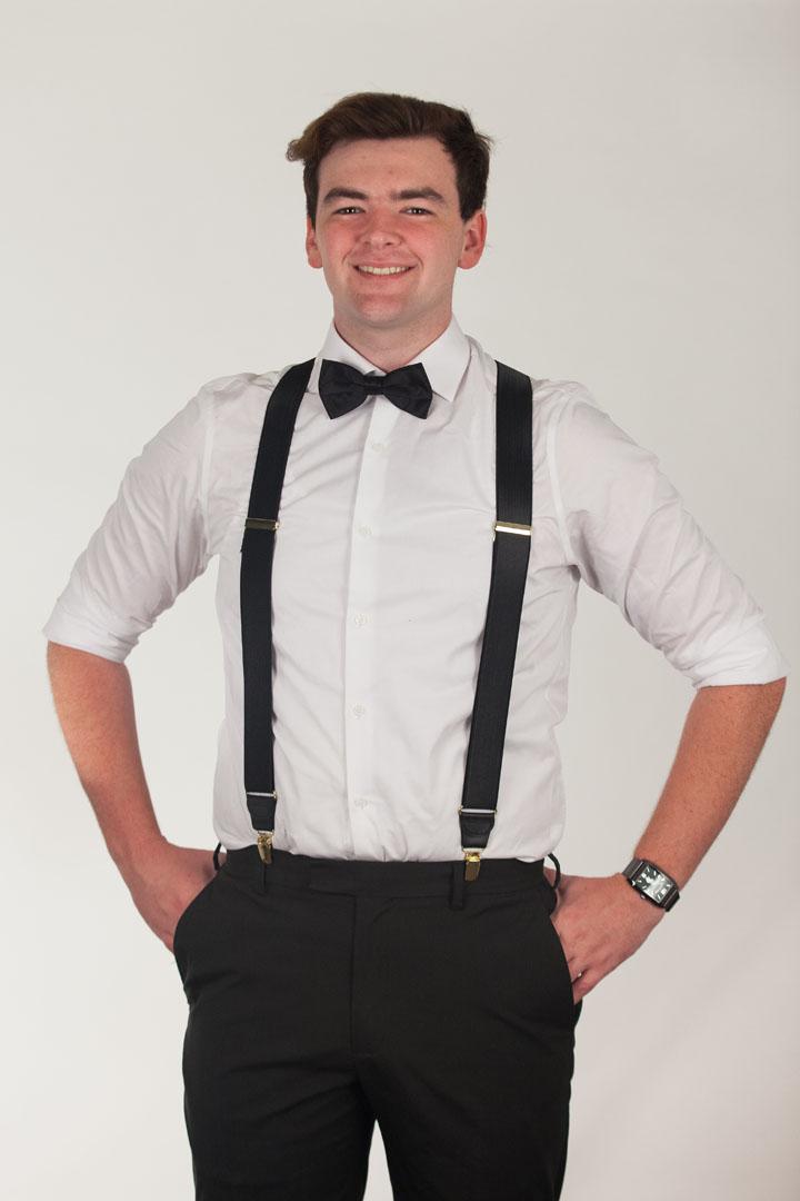 Bow Tie - Pre-Tied BLACK