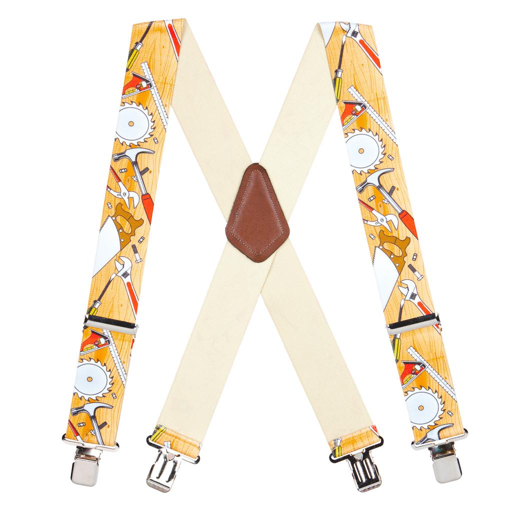 Carpenter Suspenders Full View