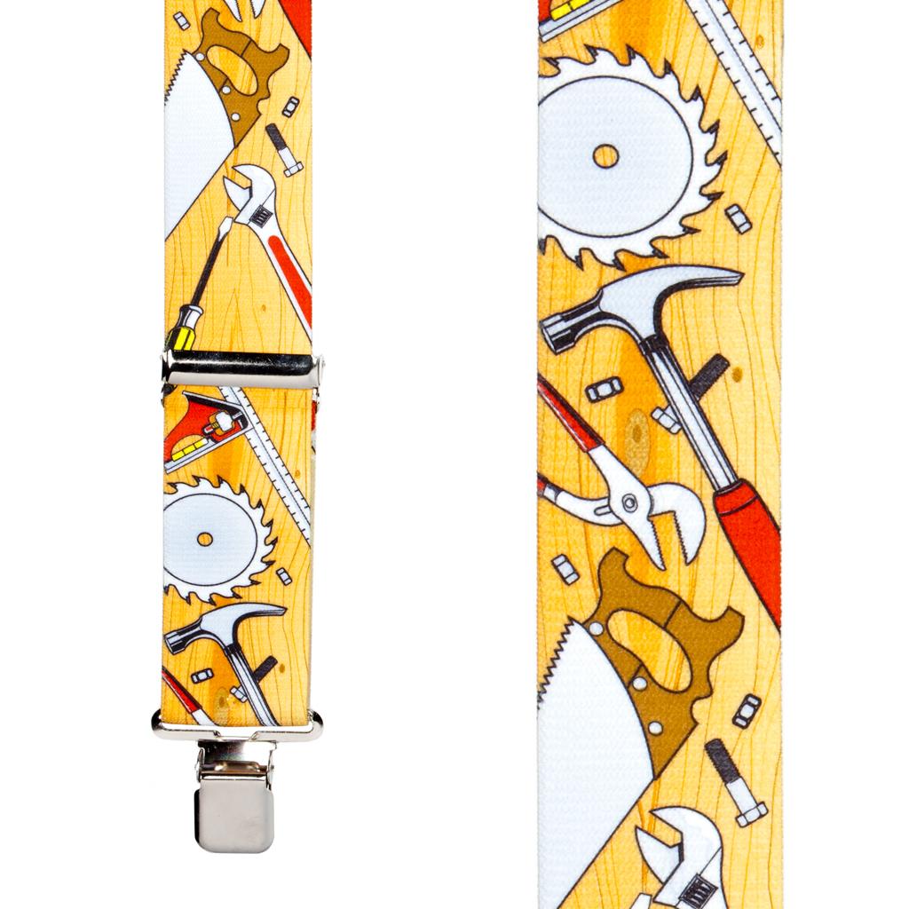Carpenter Suspenders Front View