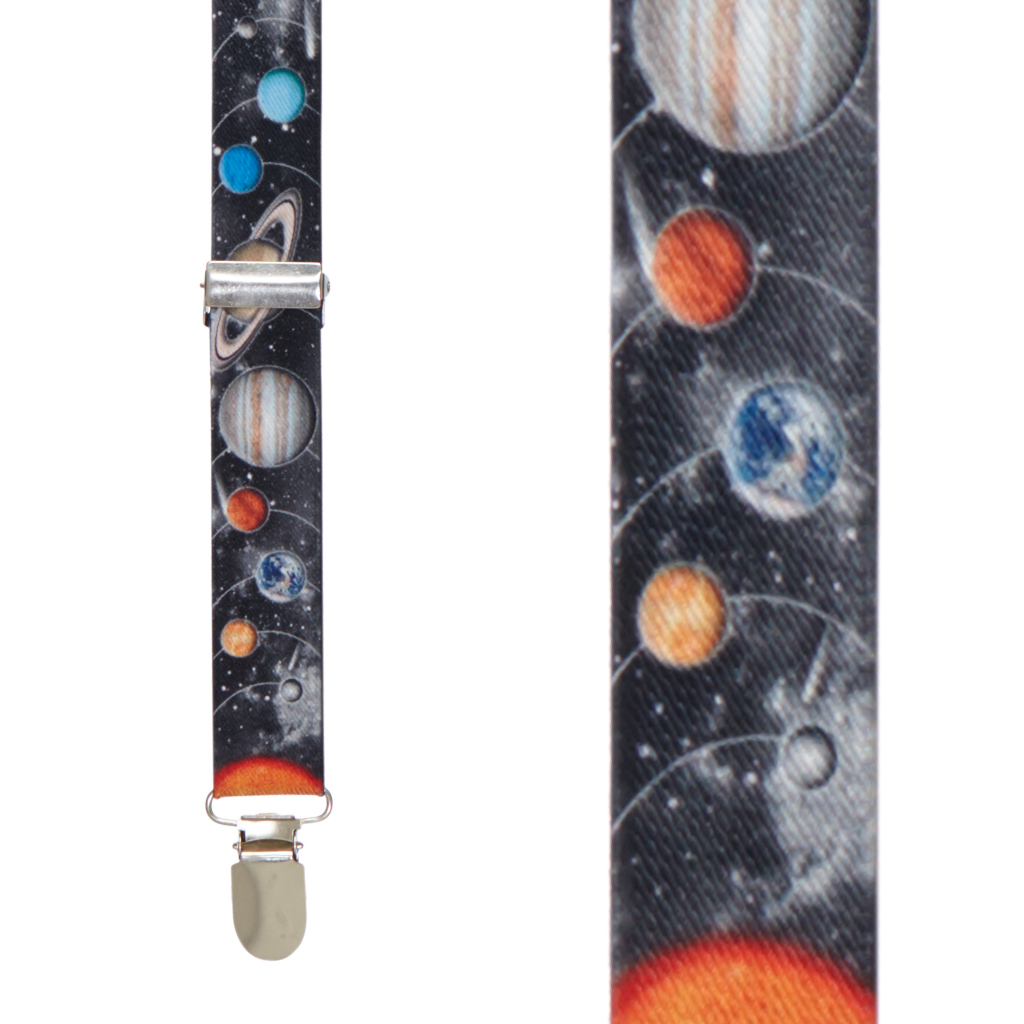 Planet Suspenders - Front View