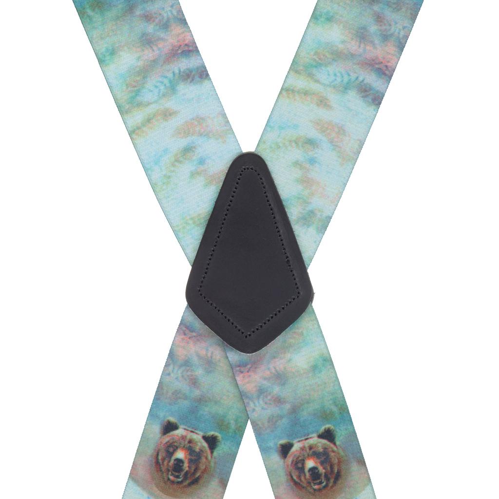 Bear Suspenders - Rear View