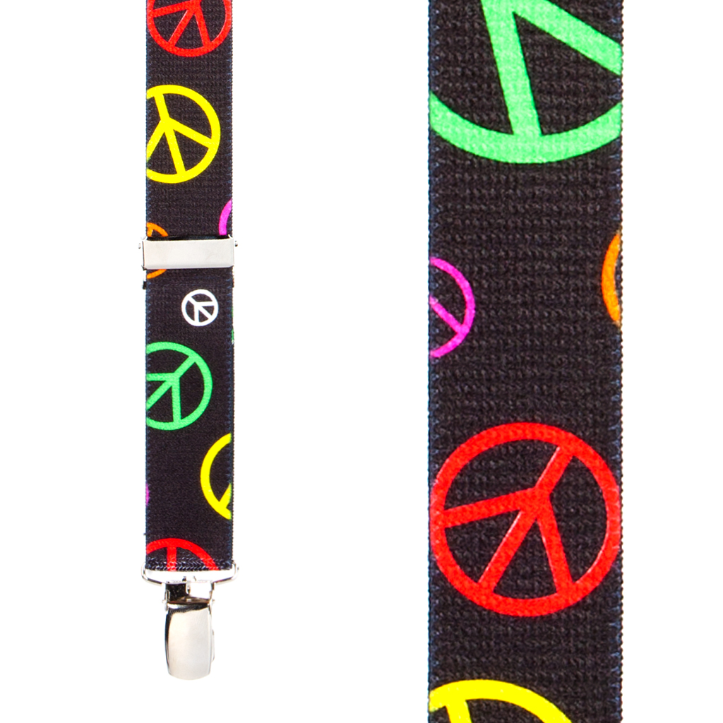 Peace Suspenders - Front View