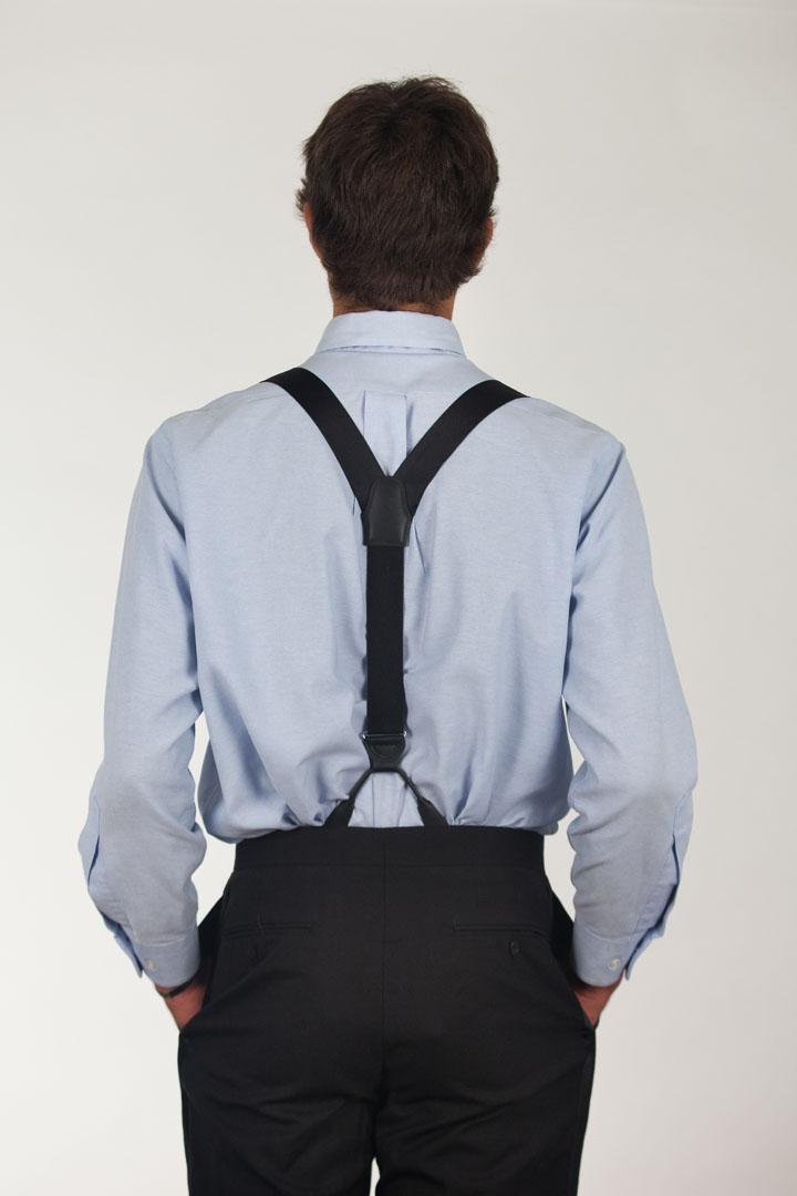 Bangkok Silk Suspenders - Button
