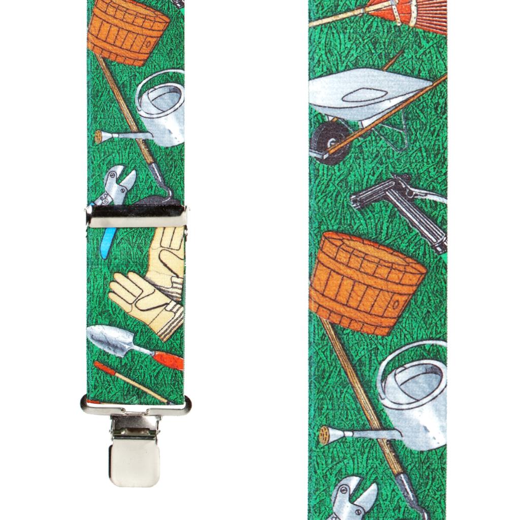 Garden Tools Suspenders - Front View