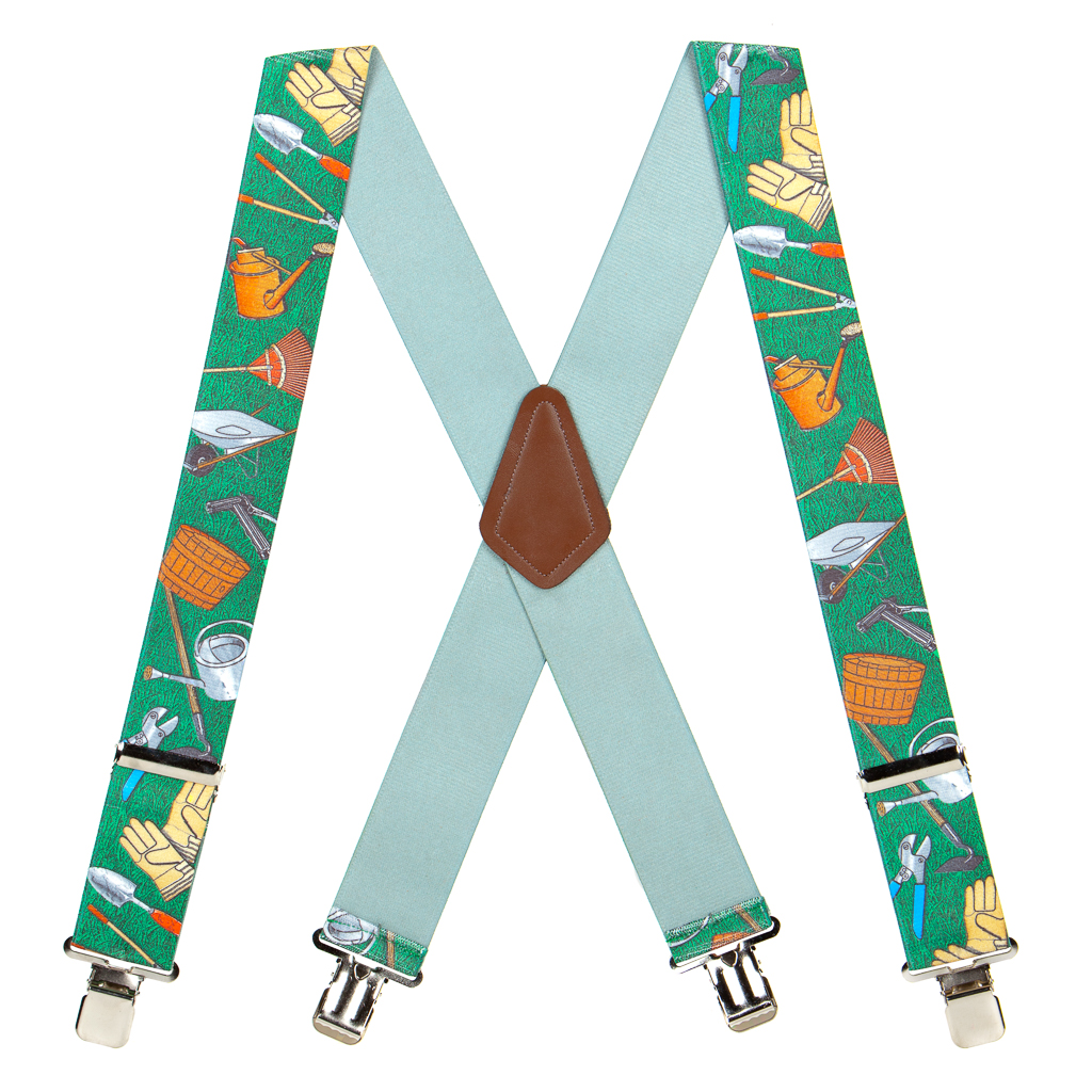 Garden Tools Suspenders - Full View