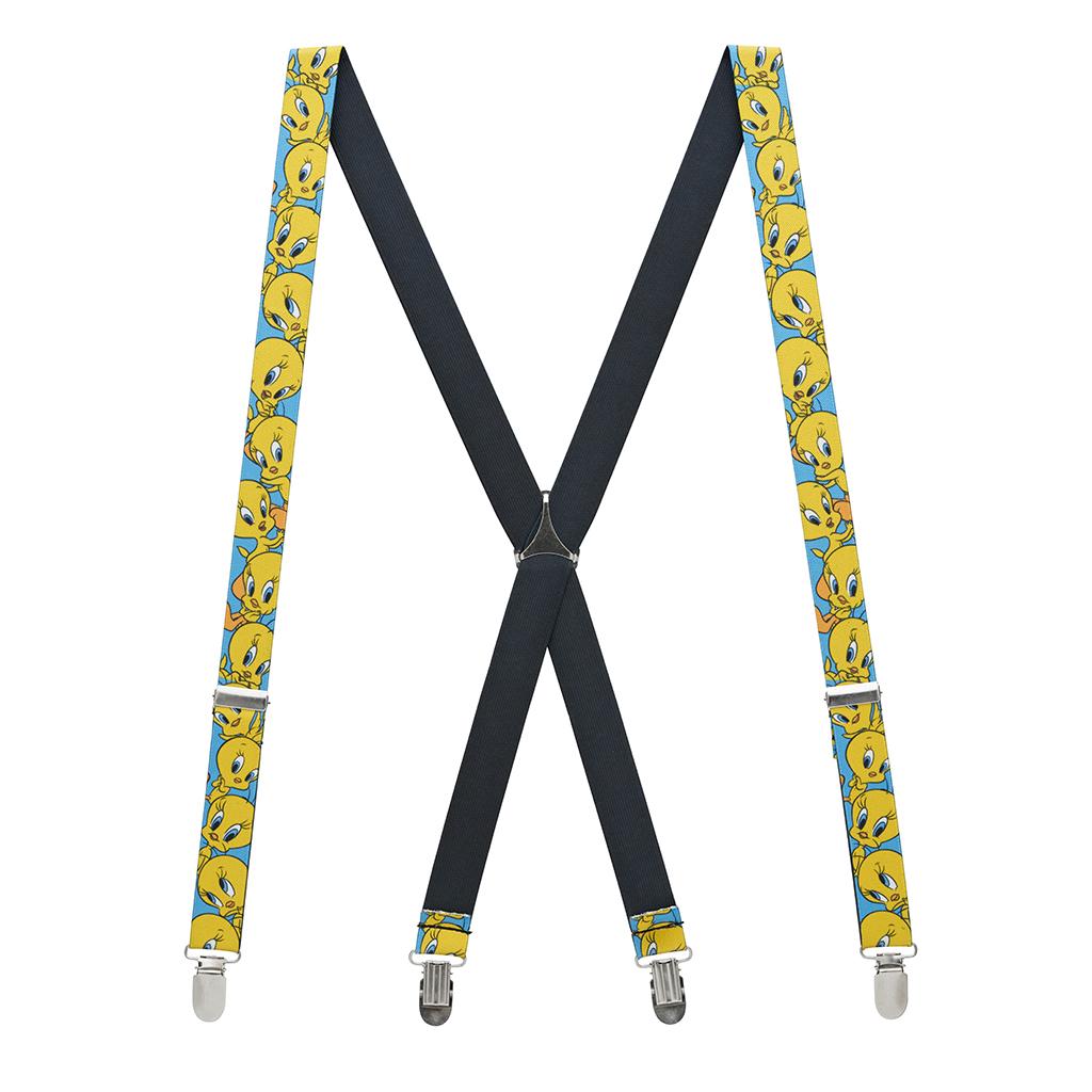 Tweety Bird Suspenders Full View
