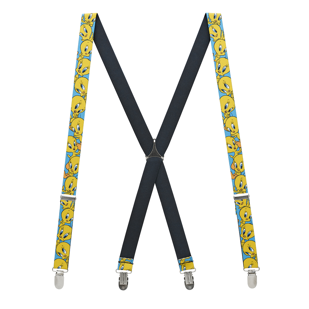 Tweety Bird Suspenders Full View