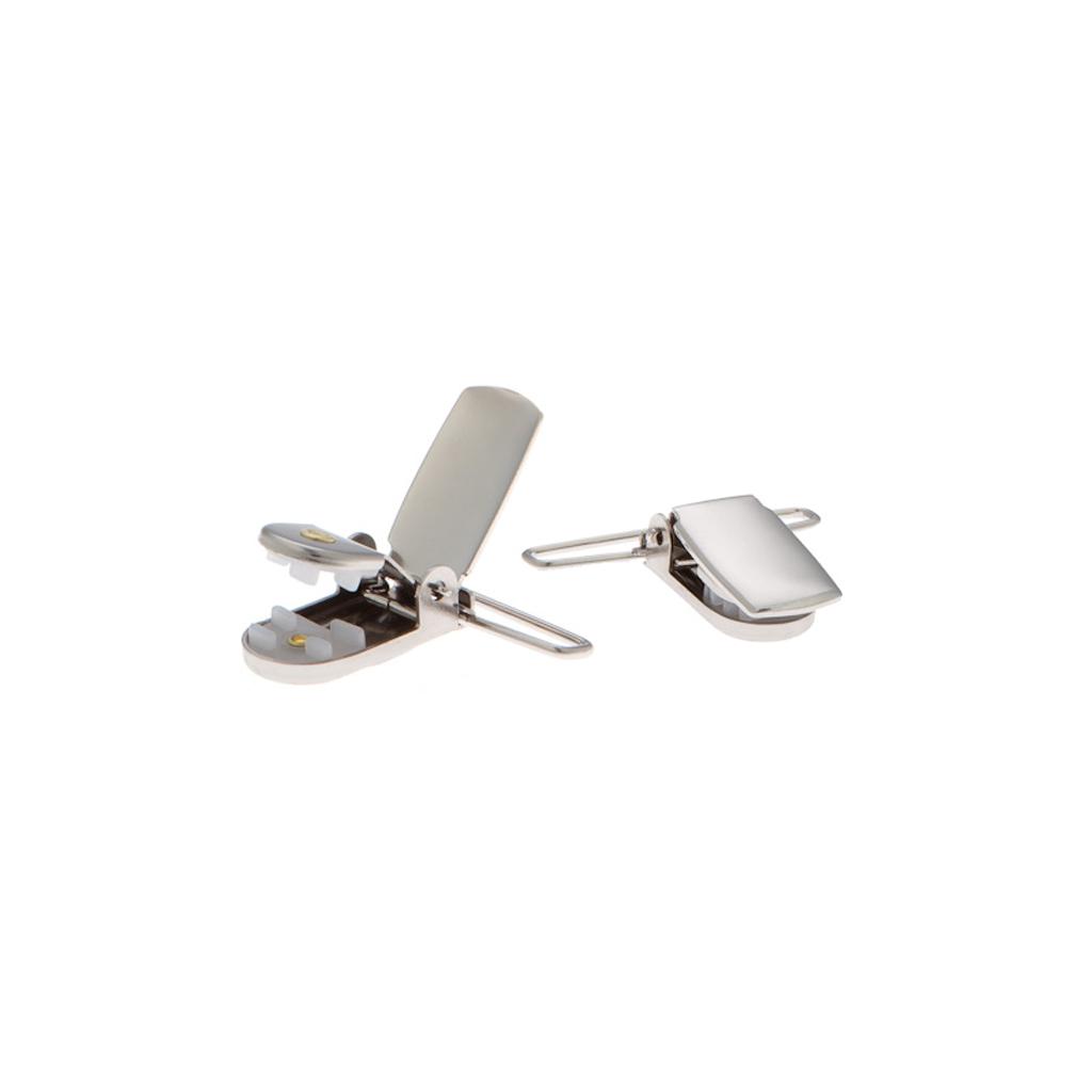 SALE 1 Inch Wide Clip Suspenders (X-Back) - MAGENTA