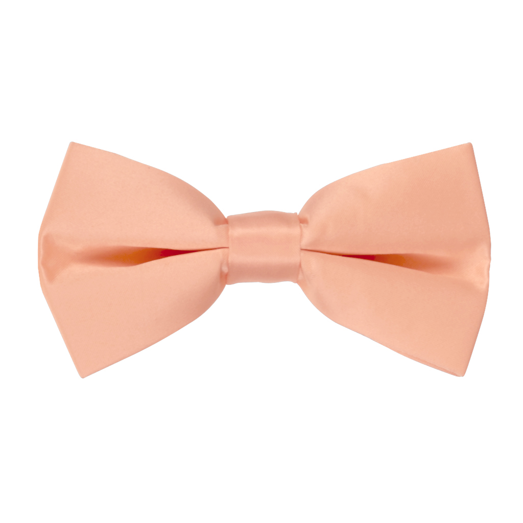 Bow Tie in Peach