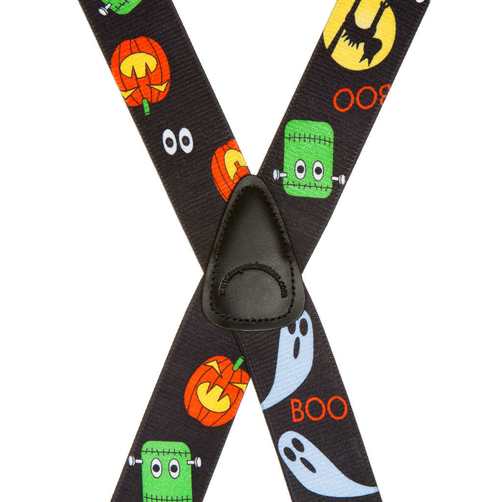 Halloween Suspenders Rear View