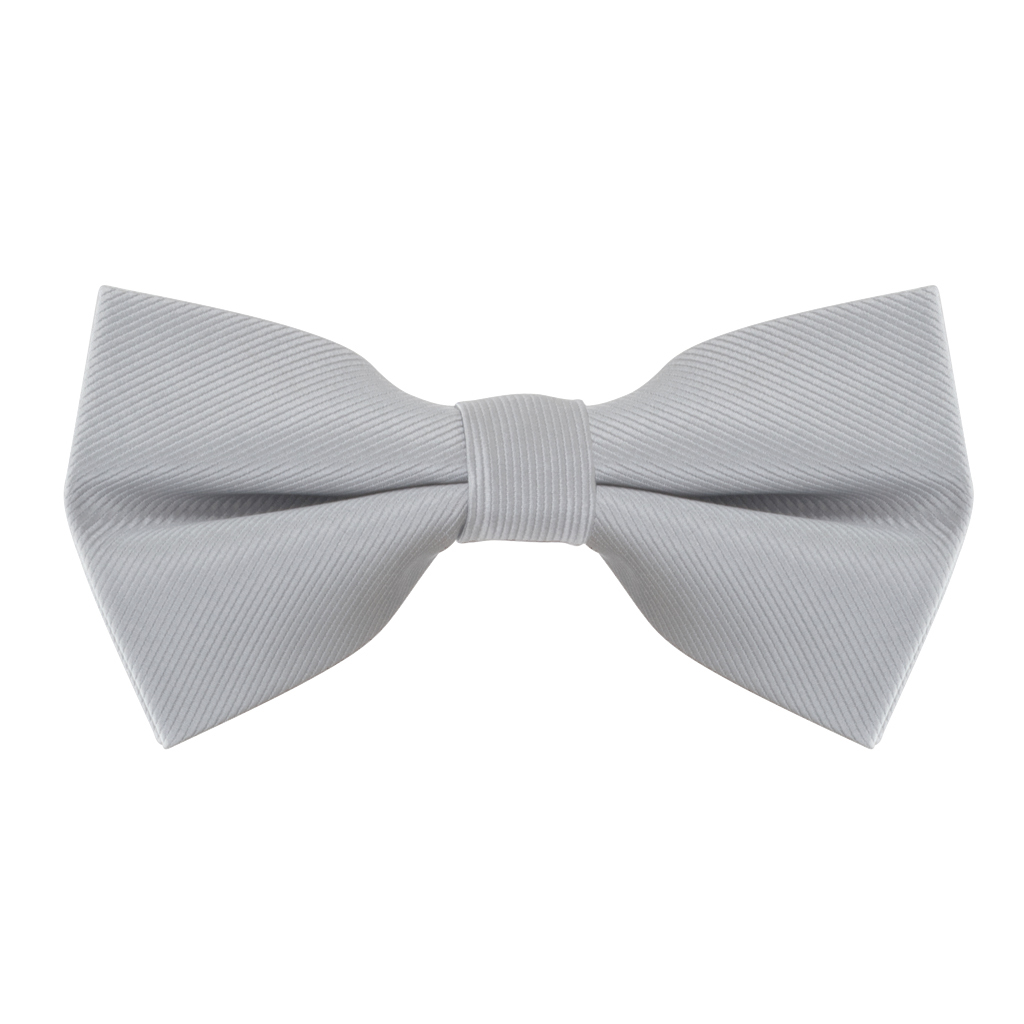 Light Grey Bow Tie