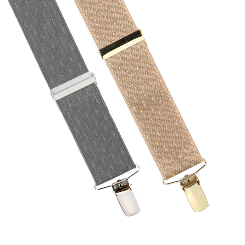 Jacquard Suspenders Petite Diamonds