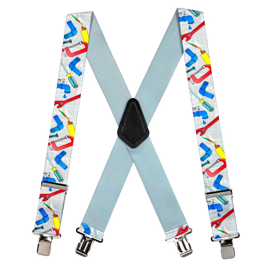 Plumber Suspenders - Full View