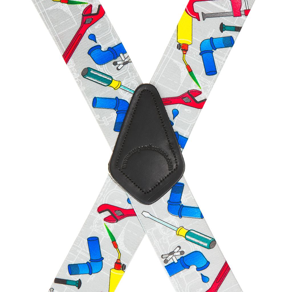 Plumber Suspenders - Rear View