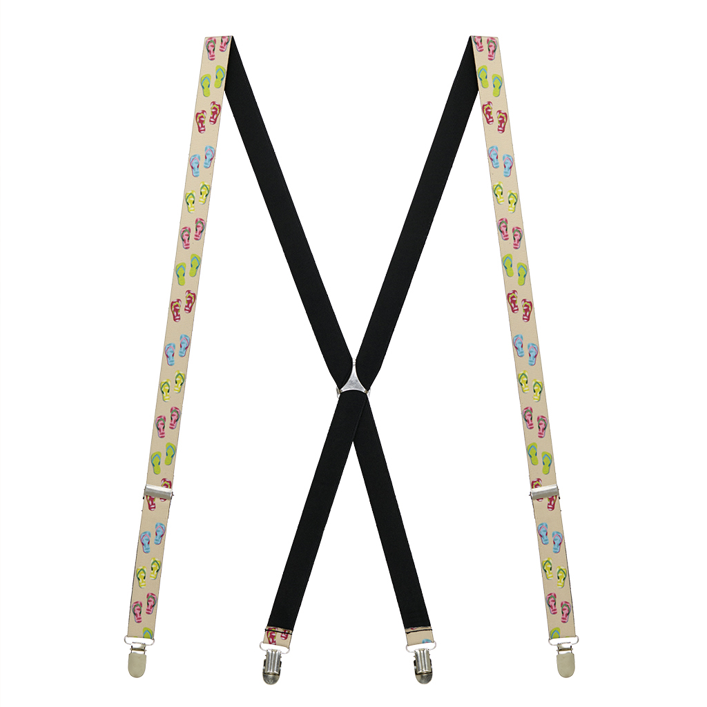 Flip Flop Suspenders - Full View