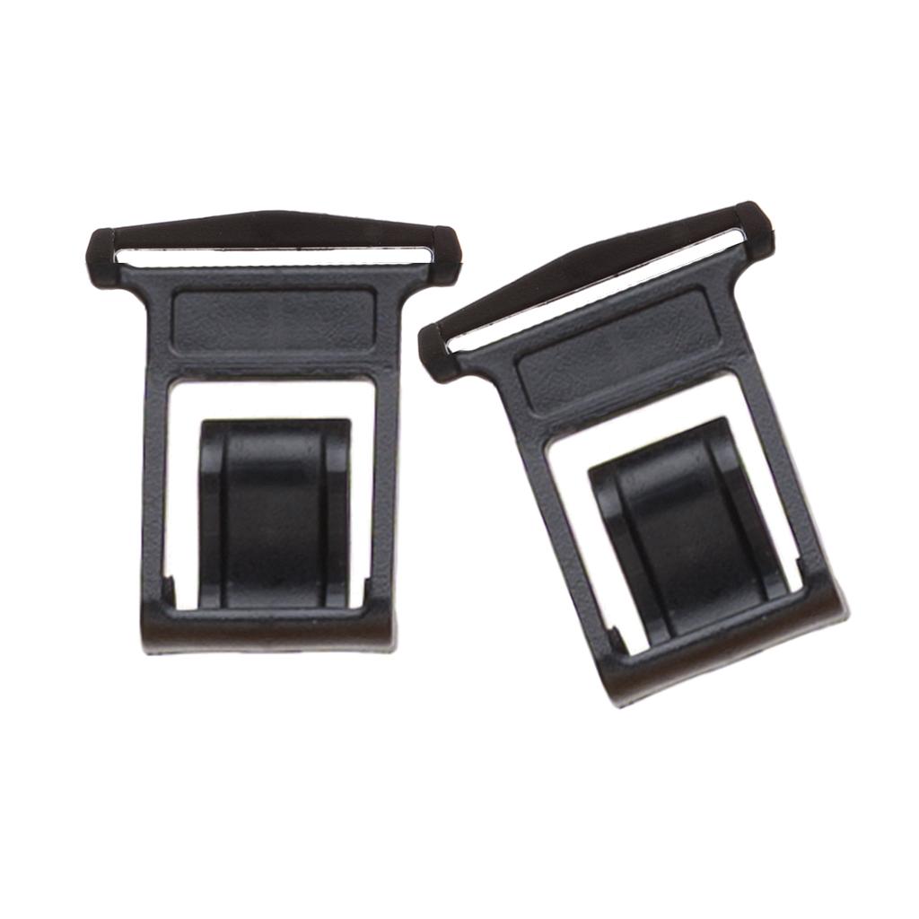Perry Suspenders - Rear View - Black Side Clip Elastic