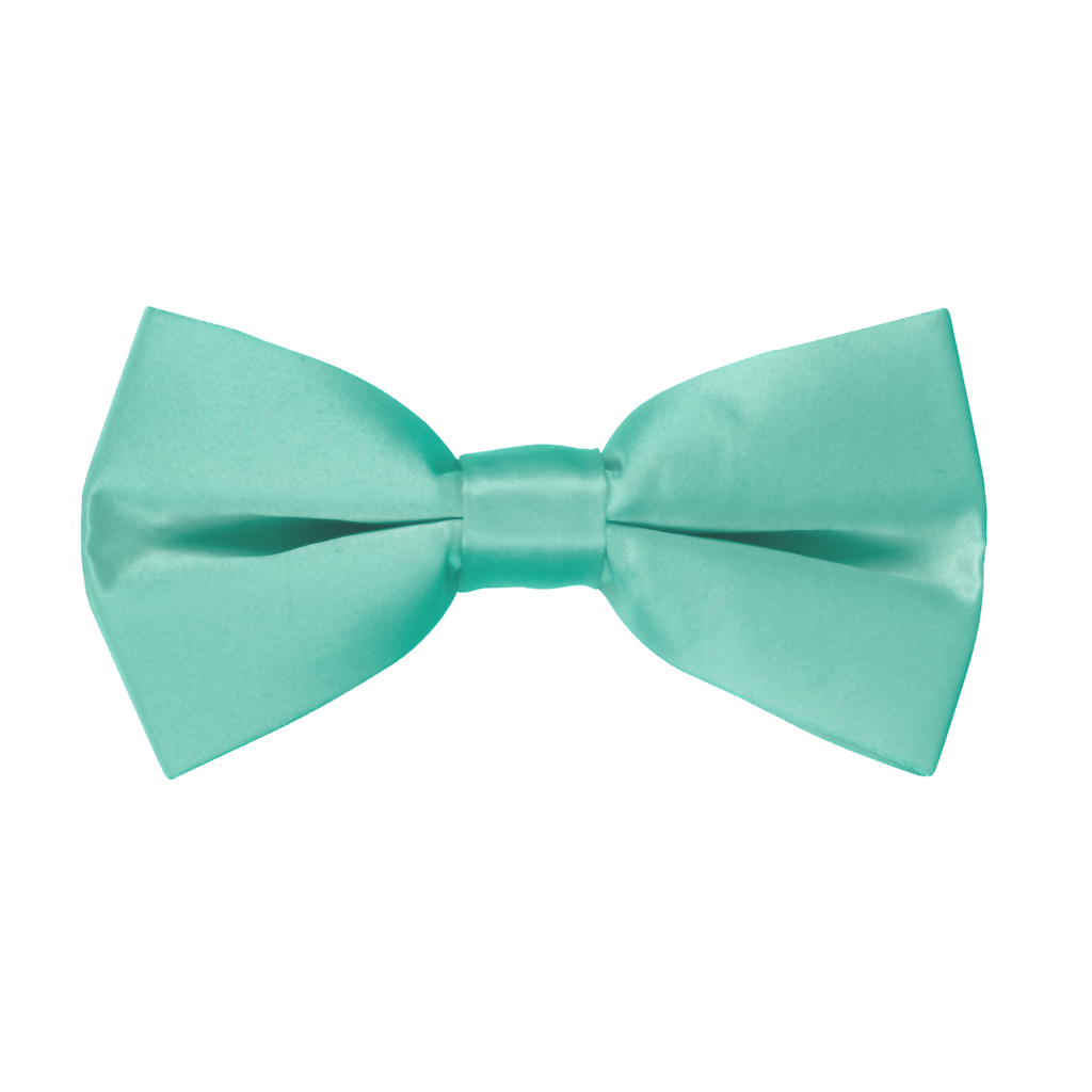 Bow Tie in Mint Green