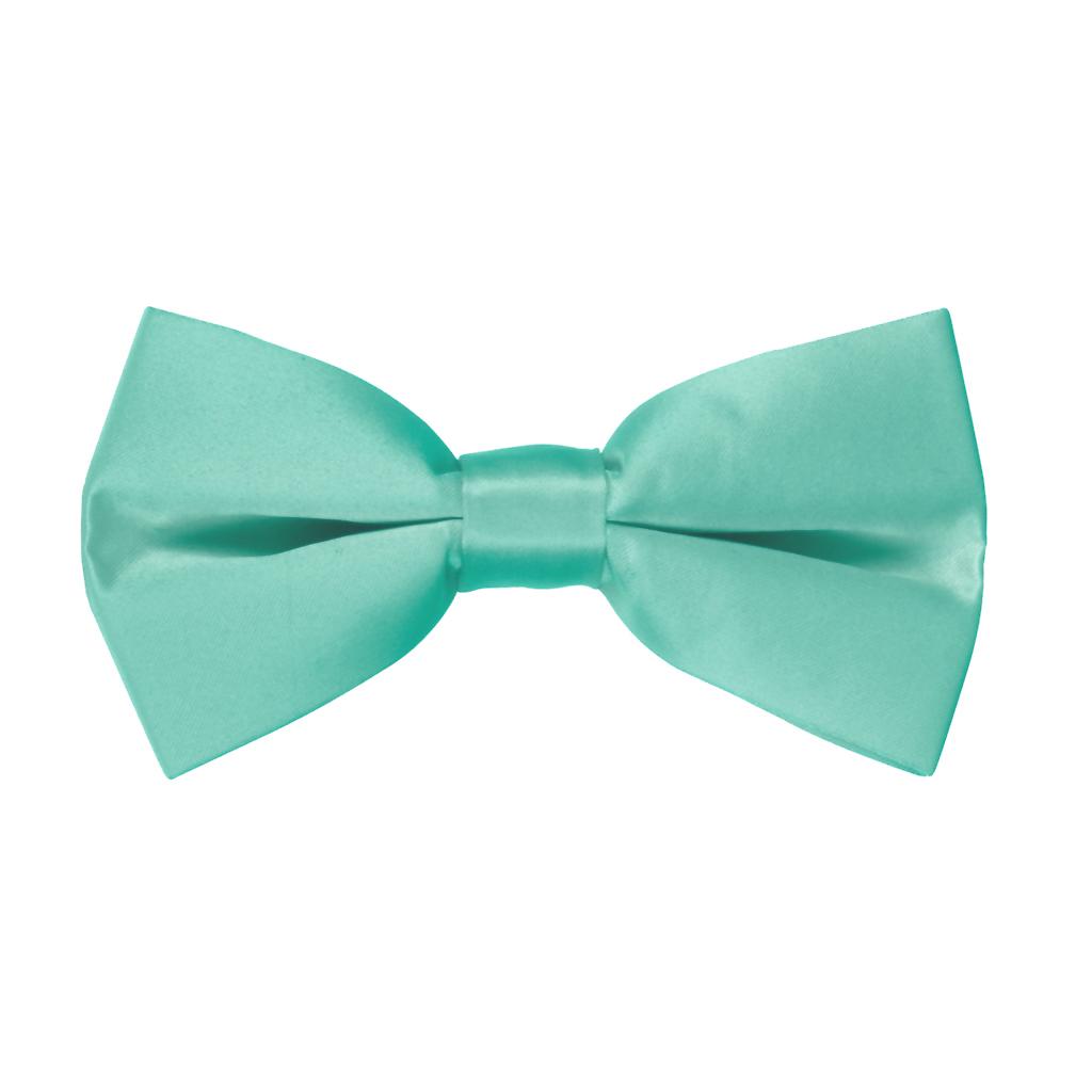 Bow Tie in Mint Green