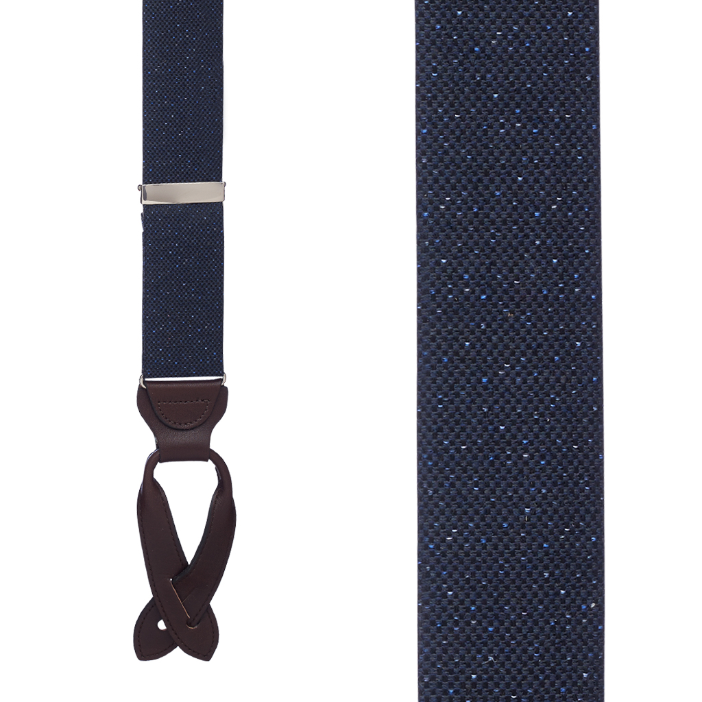 Canton Silk Tweed Suspenders
