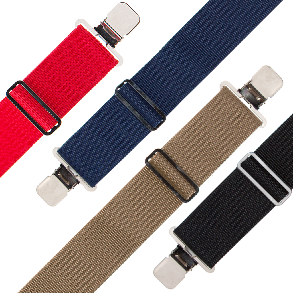 Big & Tall Heavy Duty Work Suspenders - All Colors