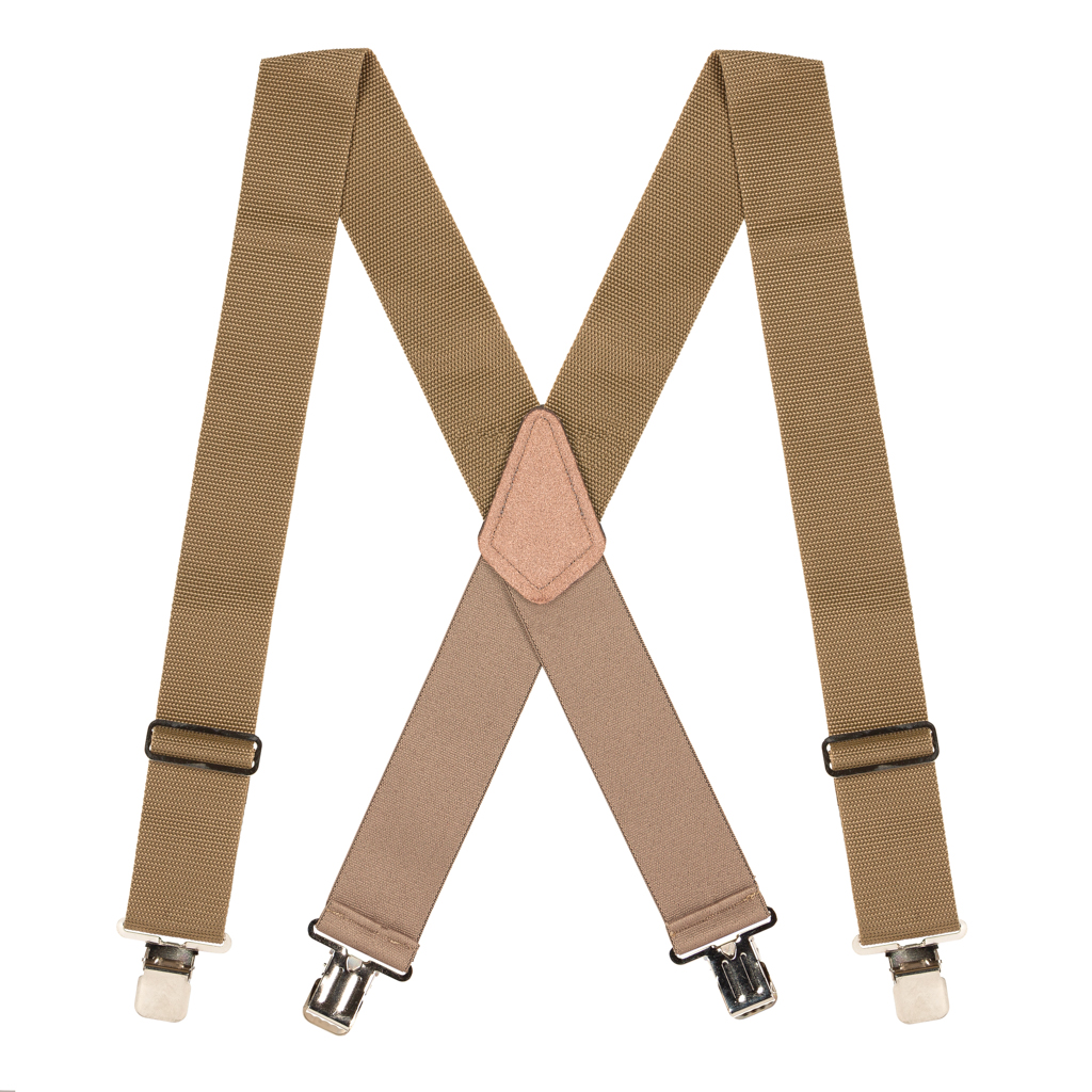Heavy Duty Work - Big & Tall Suspenders