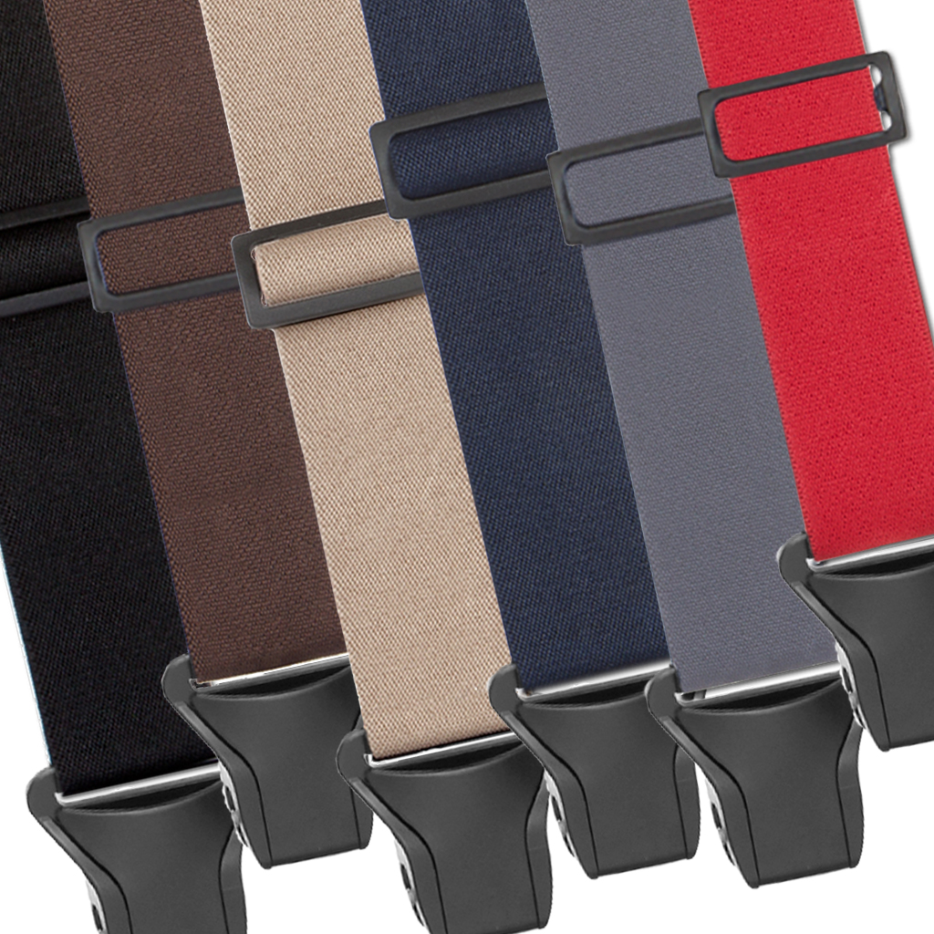 Big & Tall BuzzNot Suspenders - All Colors