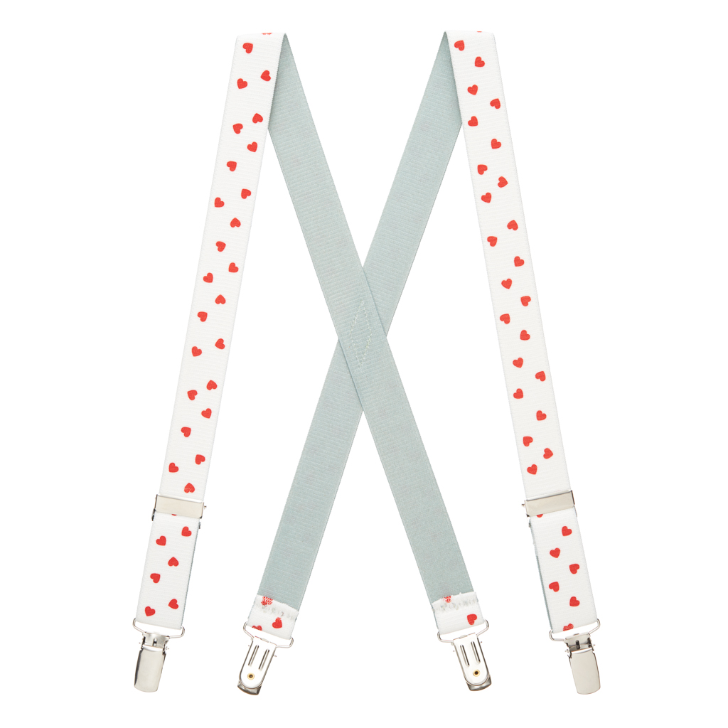 Hearts Suspenders - Full View